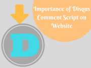 Importance of Disqus Comment Script on website