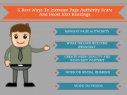 5 Best Ways to Increase Page Authority Score To Boost SEO Rankings