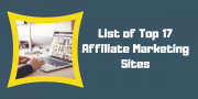 Here are the Top 17  Affiliate Marketing Sites 2019 for You