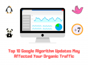 Top 10 Google Algorithm Updates that can Affect Your Organic Traffic